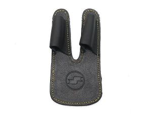 SSK Leather Finger/Palm Protection - Black