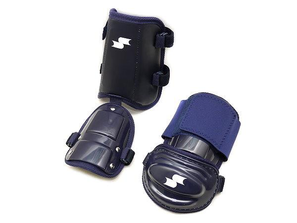 SSK Baseball Elbow/Shin Guard - Navy
