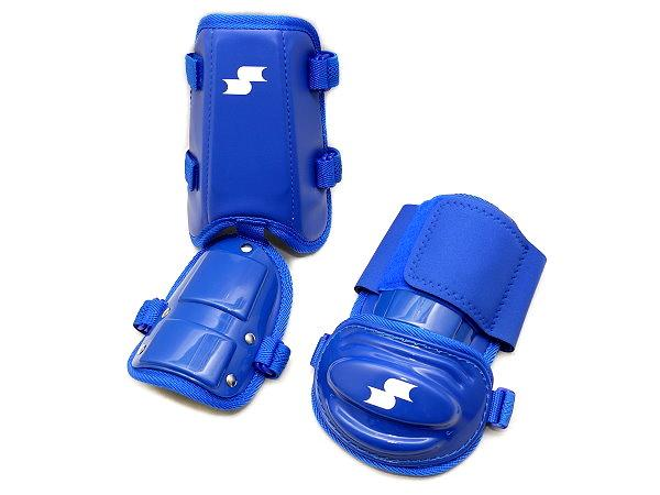 SSK Baseball Elbow/Shin Guard - Royal