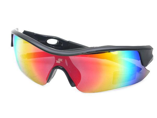 SSK Japan Series UV 400 Baseball Sunglasses - Black