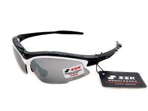 SSK UV 400 Sunglasses - Black/White