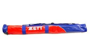 ZETT Pro Status Single Bat Bag - Red/Royal