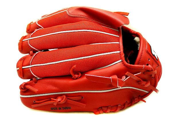 ZETT Super Light 12 inch Red Pitcher Glove + BONUS