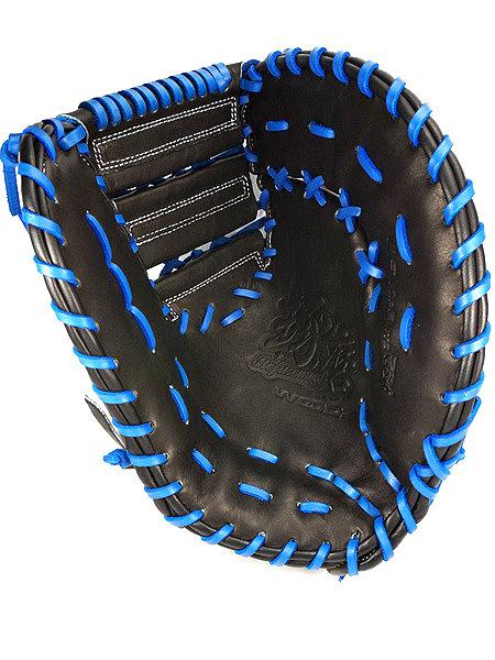 WOODZ 13 inch Custom First Base Mitt for Mr. Lusher