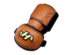 HATAKEYAMA Innovation Elbow Guard - Brown