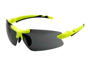 WOODZ Elite UV400 DPC Sunglasses Fluorescent Green