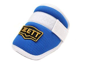 ZETT Pro Adjustable Baseball Elbow Guard - Royal/White