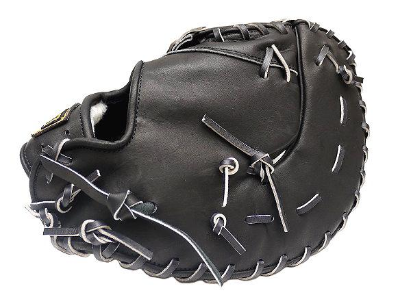 ZETT Pro Elite 13 inch LHT Black First Base Mitt + BONUS