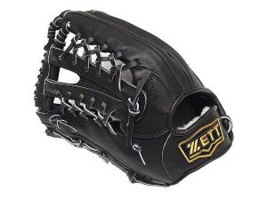 ZETT Pro Elite 13 inch LHT Black OF Glove + BONUS