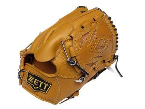ZETT Pro Elite 12 inch Brown Pitcher Glove + BONUS