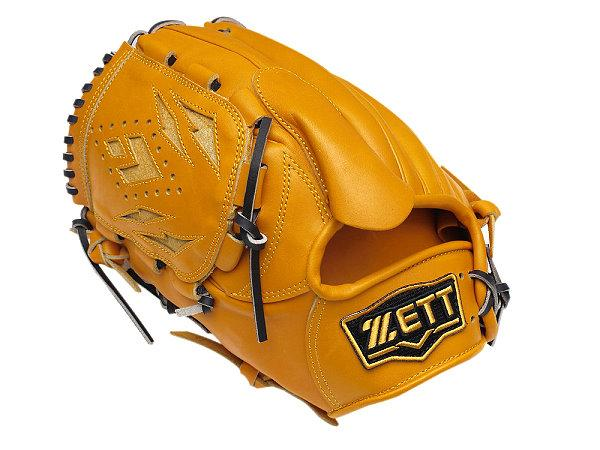 ZETT Pro Elite 12 inch LHT Tan Pitcher Glove + BONUS