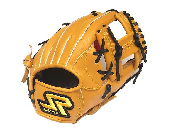 SUREPLAY Game Fighter 11.25 inch Tan Infielder Glove