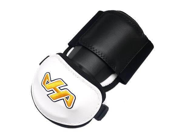HATAKEYAMA Innovation Elbow Guard - White/Black