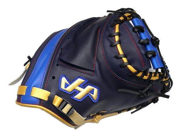 HATAKEYAMA Pro Model 33 inch Navy Catcher Mitt