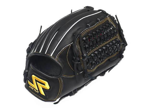 SUREPLAY Game Fighter 12 inch Black Infielder Glove