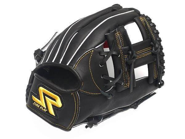 SUREPLAY Game Fighter 11.25 inch Black Infielder Glove
