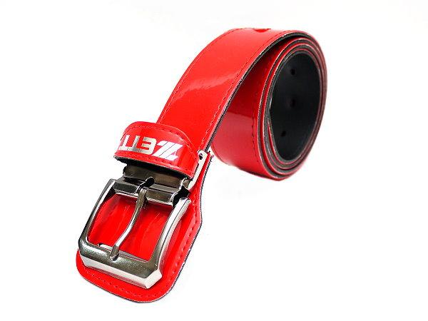 ZETT Baseball Belts (3) Pieces Pack - 140cm Red