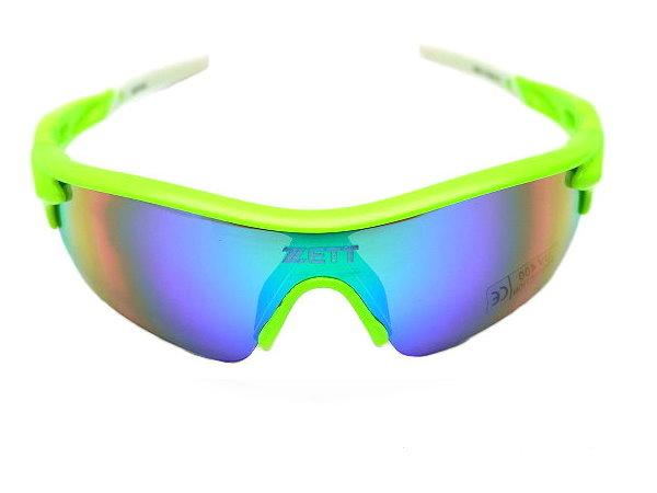 ZETT Pro UV 400 Sunglasses - Fluorescent Green