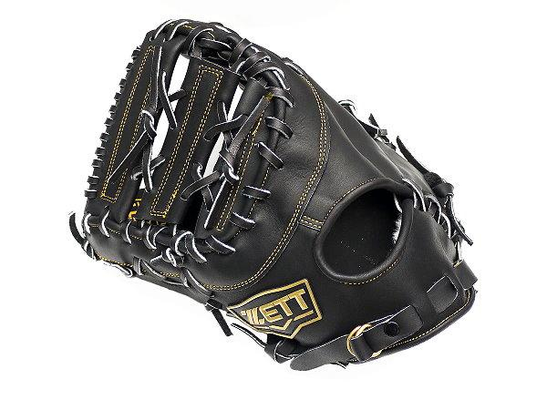 ZETT Innovation 12.5 inch LHT Black First Base Mitt + BONUS