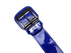 ZETT Baseball Belts (3) Pieces Pack - 110cm Royal