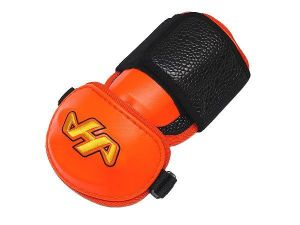 HATAKEYAMA Pro Elbow Guard - Orange/Black