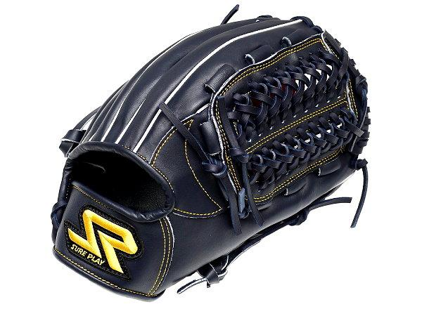 SUREPLAY Game Fighter 12 inch Navy Infielder Glove