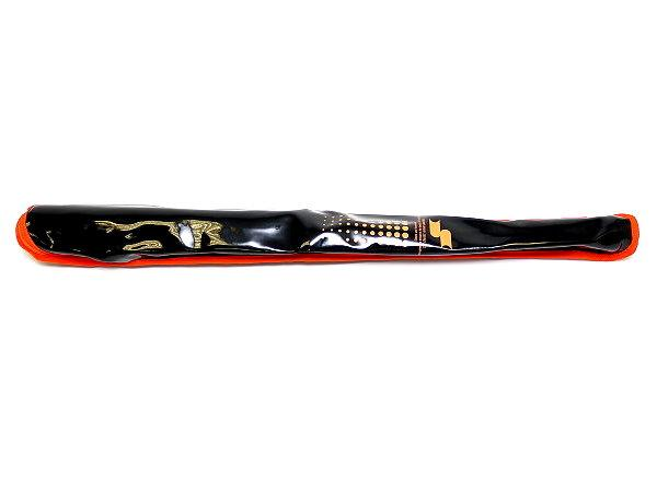 SSK Sparkle Single Bat Bag - Black/Orange