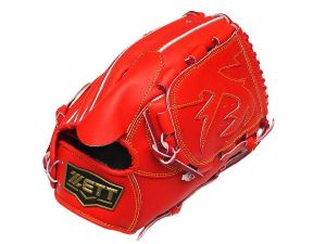 ZETT Innovation 12 inch Red Pitcher Glove + BONUS
