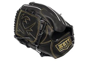 ZETT Innovation 12 inch LHT Black Pitcher Glove + BONUS