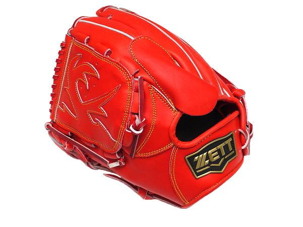 ZETT Innovation 12 inch LHT Red Pitcher Glove + BONUS