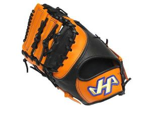 HATAKEYAMA Pro 12.5 inch LHT First Base Mitt - Orange