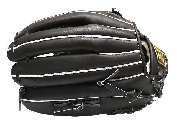 ZETT Innovation 12.75 inch Black Outfielder Glove + BONUS