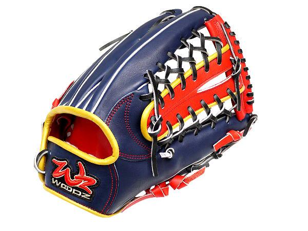 WOODZ Refinement 12.75 inch Navy Outfielder Glove