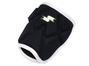 SSK Premium Pro Batter Elbow Guard - Black/White