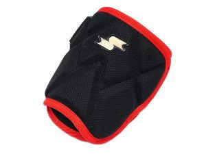 SSK Premium Pro Batter Elbow Guard - Black/Red