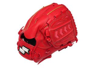 SSK Fire Heart 12 inch Red Pitcher Glove + BONUS
