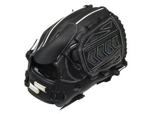 SSK Fire Heart 12 inch Black Pitcher Glove