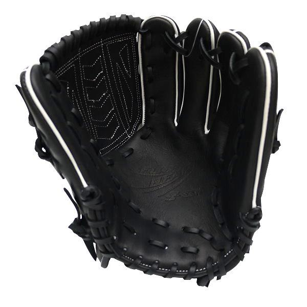 SSK Fire Heart 12 inch Black Pitcher Glove + BONUS