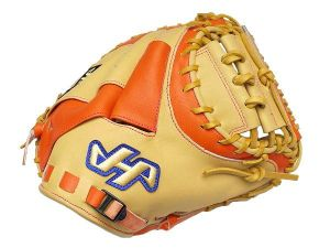 HATAKEYAMA Kip 33.5 inch Catcher Mitt - Camel/Orange