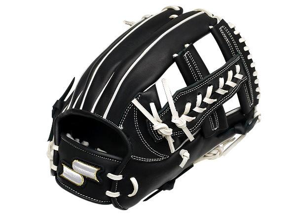 SSK Fire Heart 11.75 inch Black Infielder Glove