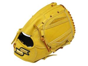 SSK Special Make Up 12 inch Yellow Pitcher Glove