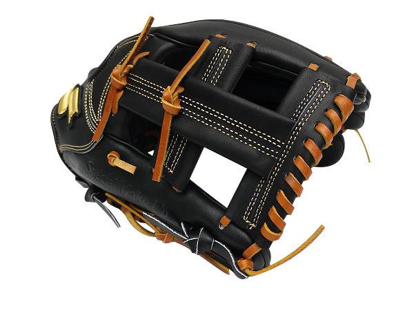 SSK Special Make Up 12 inch Black Infielder Glove + BONUS