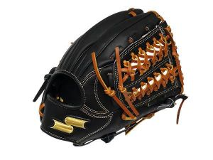 SSK Special Make Up 11.75 inch Black Infielder Glove + BONUS