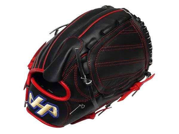 HATAKEYAMA Pro 12 inch Pitcher Glove - Black/Red