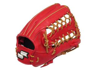 SSK Fire Heart 12.75 inch Red Outfielder Glove