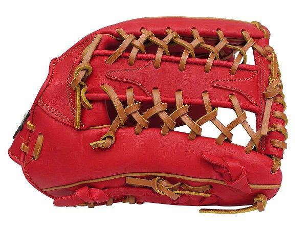 SSK Fire Heart 12.75 inch Red Outfielder Glove + BONUS