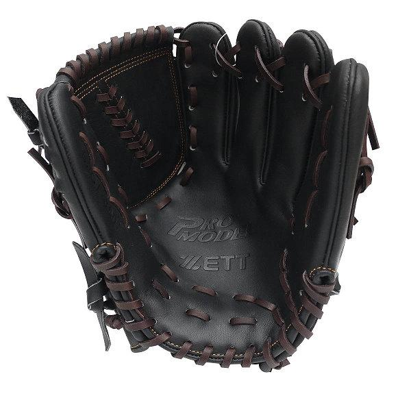 ZETT Pro Model 11.5 inch Black Pitcher Glove