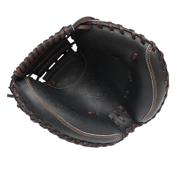 ZETT Pro Model 33 inch Black Catcher Mitt
