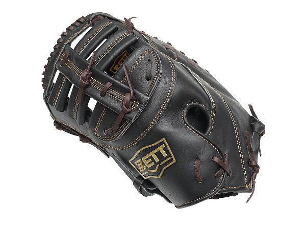 ZETT Pro Model 12.5 inch Black LHT First Base Mitt