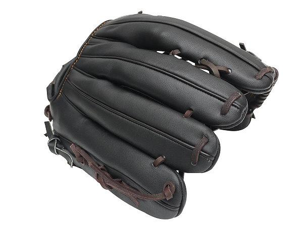 ZETT Pro Model 13 inch Black LHT Outfielder Glove